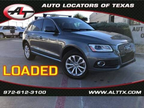 2016 Audi Q5 for sale at AUTO LOCATORS OF TEXAS in Plano TX