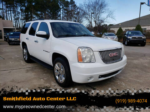2009 GMC Yukon for sale at Smithfield Auto Center LLC in Smithfield NC