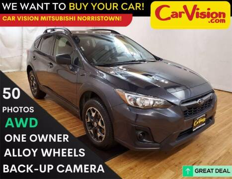 2018 Subaru Crosstrek for sale at Car Vision Mitsubishi Norristown in Trooper PA