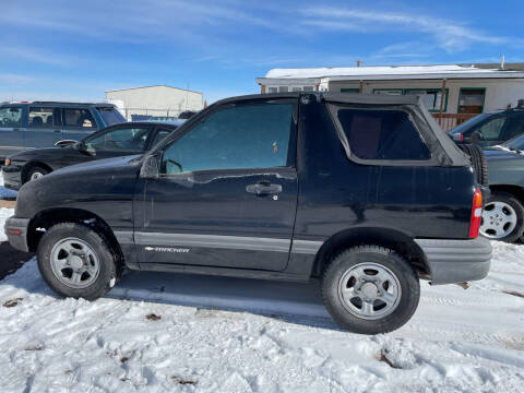 2003 Chevrolet Tracker for sale at PYRAMID MOTORS - Fountain Lot in Fountain CO