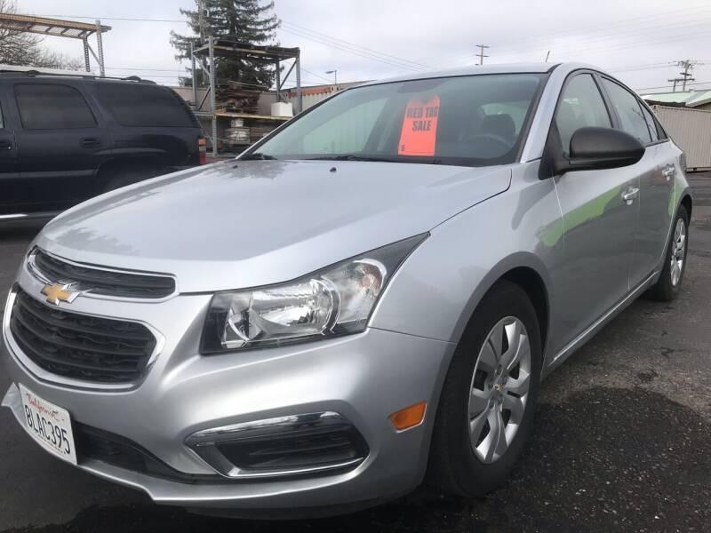 2015 Chevrolet Cruze for sale at AutoDistributors Inc in Fulton CA