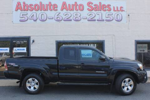 2010 Toyota Tacoma for sale at Absolute Auto Sales in Fredericksburg VA
