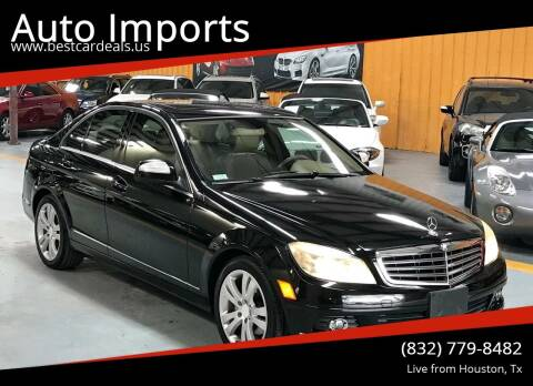 2008 Mercedes-Benz C-Class for sale at Auto Imports in Houston TX