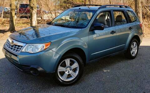 2012 Subaru Forester for sale at CRS 1 LLC in Lakewood NJ