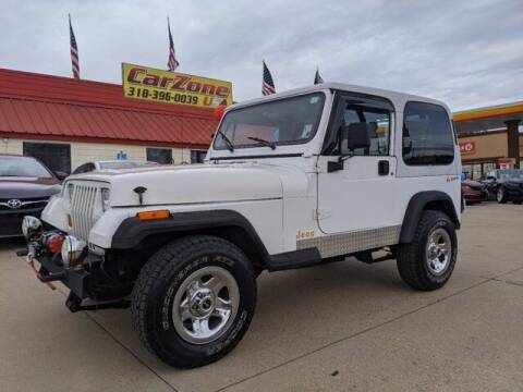 1995 Jeep Wrangler for sale at CarZoneUSA in West Monroe LA