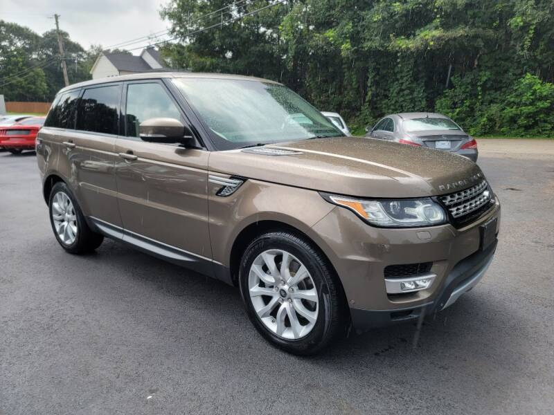 2014 Land Rover Range Rover Sport for sale at GEORGIA AUTO DEALER, LLC in Buford GA