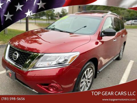 2013 Nissan Pathfinder for sale at Top Gear Cars LLC in Lynn MA