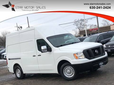 2016 Nissan NV Cargo for sale at Star Motor Sales in Downers Grove IL