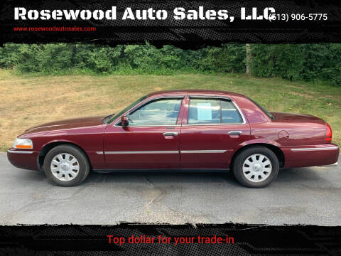 2005 Mercury Grand Marquis for sale at Rosewood Auto Sales, LLC in Hamilton OH