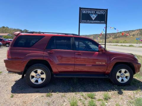 2005 Toyota 4Runner for sale at Skyway Auto INC in Durango CO