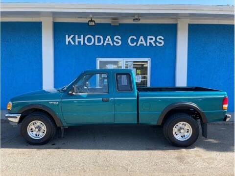 1994 Ford Ranger for sale at Khodas Cars in Gilroy CA