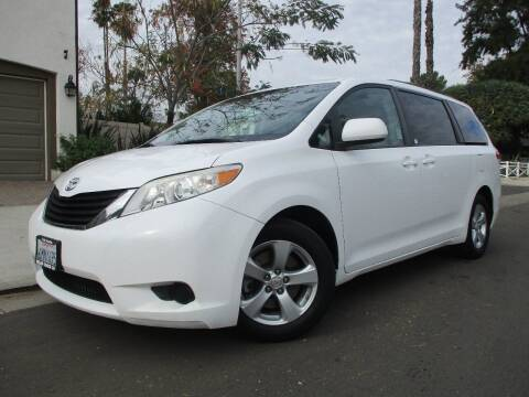 2011 Toyota Sienna for sale at Valley Coach Co Sales & Lsng in Van Nuys CA