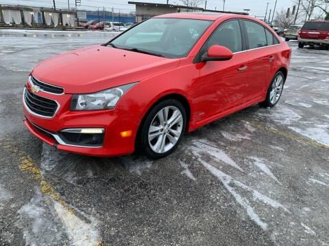 2015 Chevrolet Cruze for sale at Eddie's Auto Sales in Jeffersonville IN