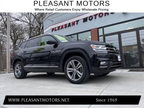 2018 Volkswagen Atlas for sale at Pleasant Motors in New Bedford MA