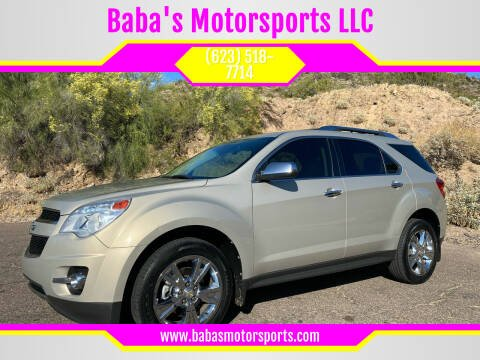 2012 Chevrolet Equinox for sale at Baba's Motorsports, LLC in Phoenix AZ