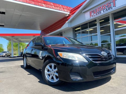 2011 Toyota Camry for sale at Furrst Class Cars LLC in Charlotte NC
