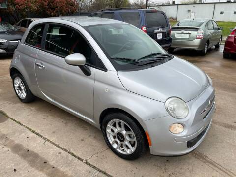 2012 FIAT 500 for sale at Cash Car Outlet in Mckinney TX