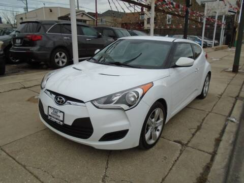 2015 Hyundai Veloster for sale at CAR CENTER INC in Chicago IL