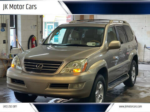 2003 Lexus GX 470 for sale at JK Motor Cars in Pittsburgh PA