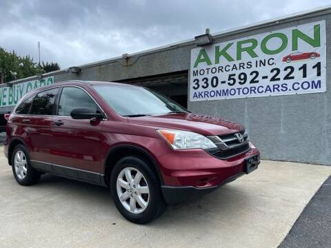 2011 Honda CR-V for sale at Akron Motorcars Inc. in Akron OH