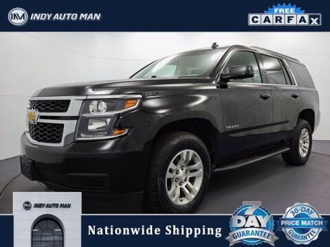 2015 Chevrolet Tahoe for sale at INDY AUTO MAN in Indianapolis IN