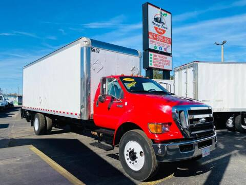 2009 Ford F-750 Super Duty for sale at Orange Truck Sales in Orlando FL