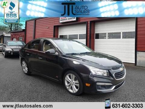 2015 Chevrolet Cruze for sale at JTL Auto Inc in Selden NY