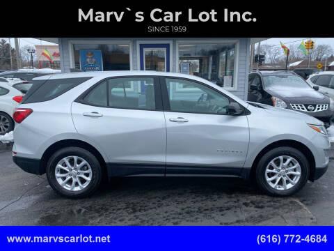 2018 Chevrolet Equinox for sale at Marv`s Car Lot Inc. in Zeeland MI