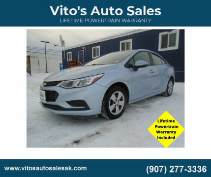 2018 Chevrolet Cruze for sale at Vito's Auto Sales in Anchorage AK