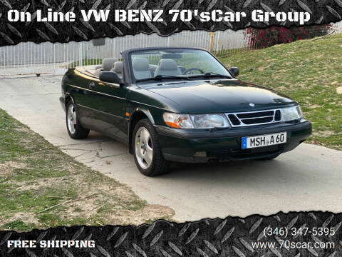 1998 Saab 900 for sale at On Line VW BENZ 70'sCar Group in Warehouse CA