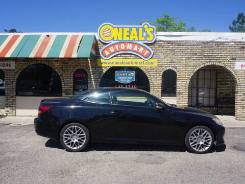 2010 Lexus IS 250C for sale at Oneal's Automart LLC in Slidell LA