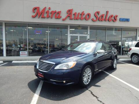 2013 Chrysler 200 for sale at Mira Auto Sales in Dayton OH