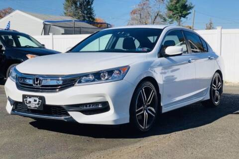 2016 Honda Accord for sale at HD Auto Sales Corp. in Reading PA