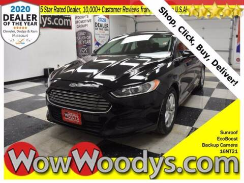 2016 Ford Fusion for sale at WOODY'S AUTOMOTIVE GROUP in Chillicothe MO