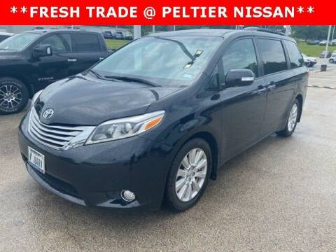 2017 Toyota Sienna for sale at TEX TYLER Autos Cars Trucks SUV Sales in Tyler TX