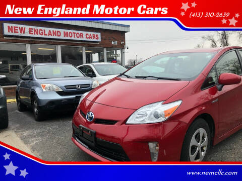 2015 Toyota Prius for sale at New England Motor Cars in Springfield MA