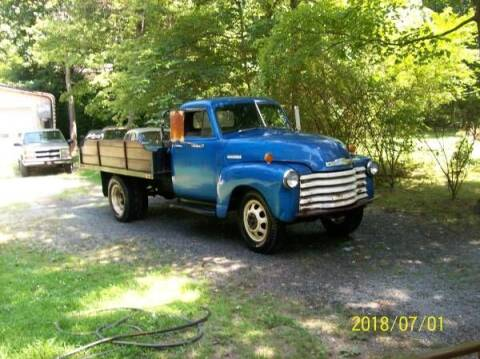 1952 Chevrolet Silverado 3500HD for sale at Classic Car Deals in Cadillac MI
