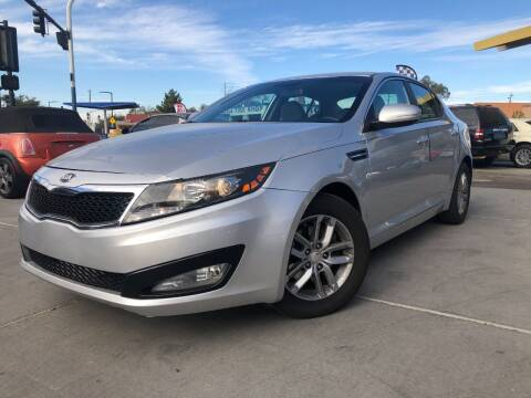 2013 Kia Optima for sale at DR Auto Sales in Glendale AZ