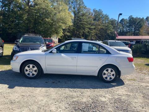 2010 Hyundai Sonata for sale at Joye & Company INC, in Augusta GA