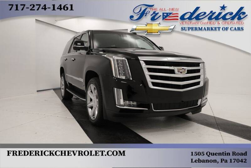 2018 Cadillac Escalade for sale at Lancaster Pre-Owned in Lancaster PA