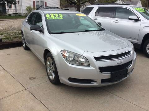 2011 Chevrolet Malibu for sale at Harrison Family Motors in Topeka KS