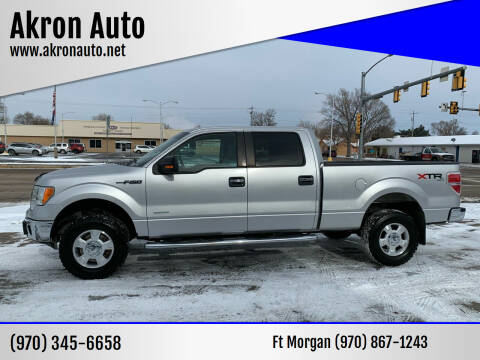 2011 Ford F-150 for sale at Akron Auto - Fort Morgan in Fort Morgan CO