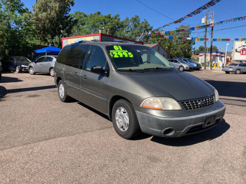 2001 Ford Windstar for sale at FUTURES FINANCING INC. in Denver CO