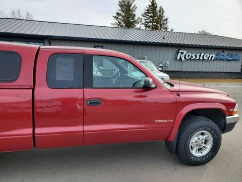 1999 Dodge Dakota for sale at ROSSTEN AUTO SALES in Grand Forks ND