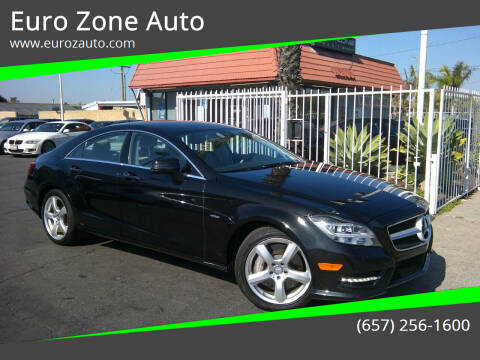 2012 Mercedes-Benz CLS for sale at Euro Zone Auto in Stanton CA