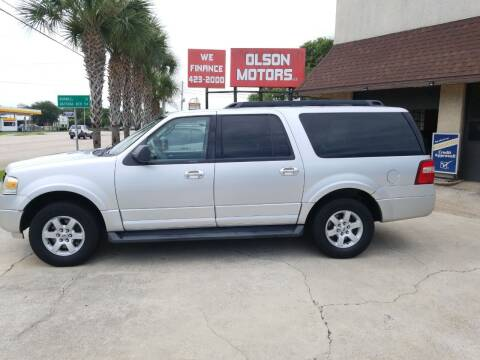 2010 Ford Expedition EL for sale at Olson Motors LLC in Saint Augustine FL