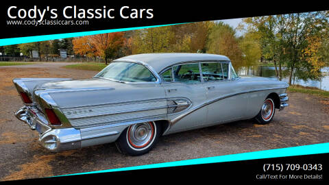1958 Buick Super for sale at Cody's Classic Cars in Stanley WI