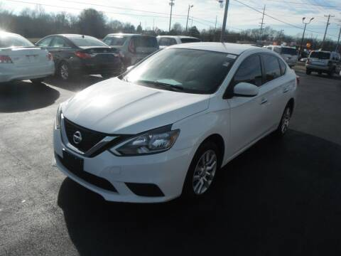 2017 Nissan Sentra for sale at Morelock Motors INC in Maryville TN