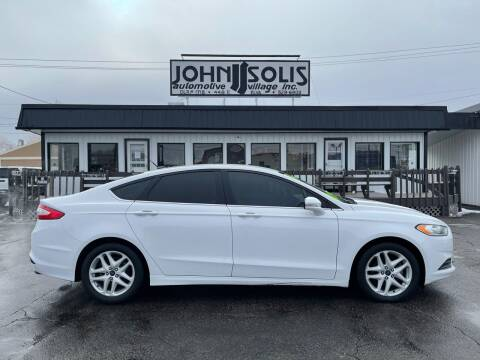 2014 Ford Fusion for sale at John Solis Automotive Village in Idaho Falls ID