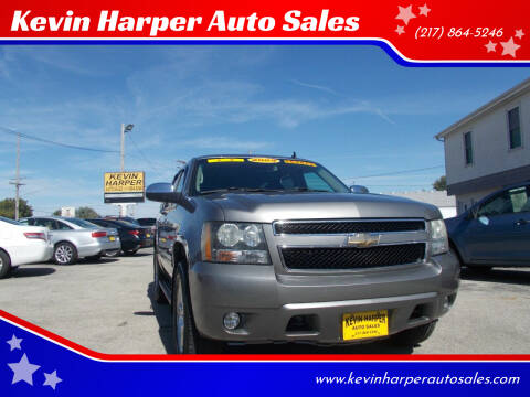 2009 Chevrolet Tahoe for sale at Kevin Harper Auto Sales in Mount Zion IL